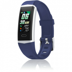 Orologio Smartwatch David Lian Hong Kong silicone blu DL122