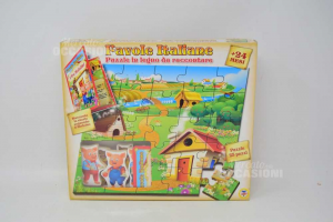 Fables Italian Wooden Puzzle From Raccontare New The 1