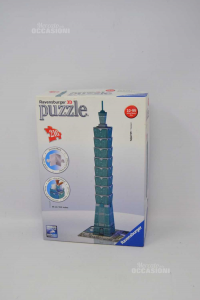 Puzzle 3d Ravensburger 216 Pieces Tapei 101- Taiwan