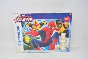 Puzzle Clementoni Spiderman Marvel 104 Pieces