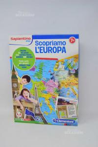 Puzzle Let\'s Discover Europe Clementoni