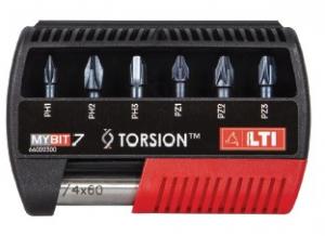 Set inserti per avvitatori TORSION MYBIT7 Lti 66002300