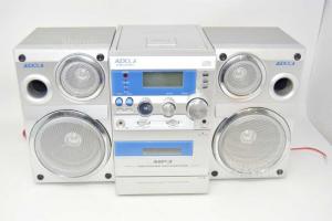 stereo audiola ahb029mp3 Radio / cassette / Cd / Mp3 Con 2 Casse Funzionante