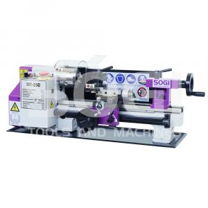 Tornio per metalli da banco SOGI M1-250 180 x 300 avanzamento automatico longitudinale