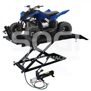 Ponte sollevatore idraulico SOGI SL-150 per moto quad portata 650 Kg pedana