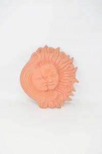 Terracotta Sole E Luna Toscana Made In Italy 23 X 27 Cm