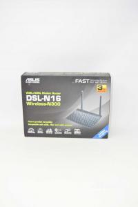 Asus Dsl-n16 Modem Vdsl2 / Adsl N° 300 Simple Band.2573
