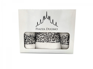 Piazza Duomo asciugamano 5 pezzi scatola regalo