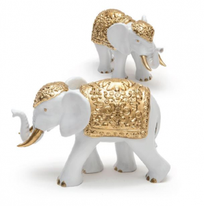 Elefante Bianco/Oro