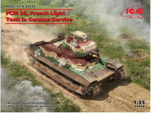 FCM 36 French Light Tank