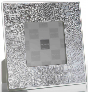 cornice spago 23X28 argento
