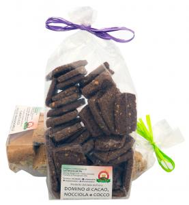 Domino di Cacao Nocciola e Cocco - La Fattoria del Re