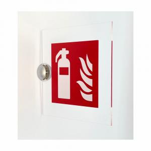 Cartello in plexiglass bifacciale serie Plexline Estintore