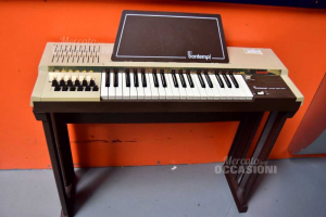Electric Chord Organ Bomtempi Brown Working
