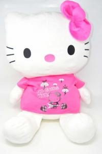 Peluche Hello Kitty Maglia Fuxia 60 Cm