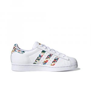 Adidas Superstar Bianca/Multicolor da Donna