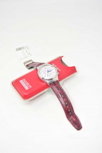 Watch Swatch Irony Ag1995 Strap From Cambiare
