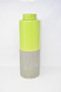 Vaso Grigio Verde Decorativo 43 Cm