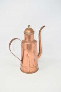 Jug Copper H 26 Cm