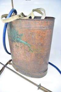 Spruzzatore To Pump Vintage Copper Vittorio Antonio From Ros Conegliano 43x33 Cm