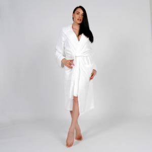 Accappatoio Easy Uomo/Donna Personalizzabile - Bianco