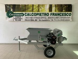 CERNITRICE DEFOGLIATORE PROFESSIONALE PER RACCOLTA OLIVE MOTORE LONCIN 196cc