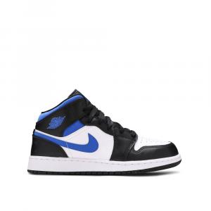 Nike Air Jordan 1 Mid 'White Racer Blue