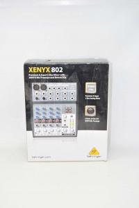 Mixer Behringer XENYX 802 Come Nuovo