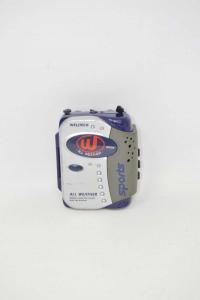 Stereo Cassette Player Am/fm Radio Welltech Sports Funzionante