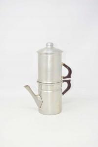 Coffee Maker Vintage Aluminum Carpinelli
