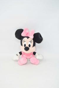 Pupazzo Minnie Rosa Altezza 24 Cm Disney