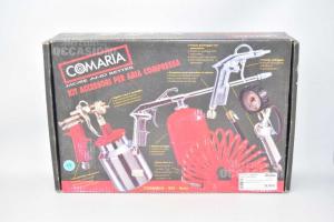 Kit Accessori Per Aria Compressa Comaria Nuovo