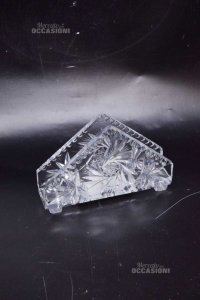 Holder Napkins In Crystal Height 10 Cm