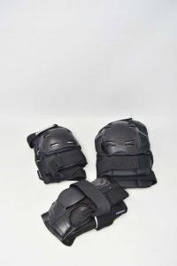 Set Protezioni Per Pattini Powerslide Nere