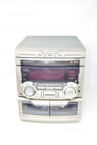 Stereo Philips Modello FW 830C Hifi System Con 2 Casse Funzionante