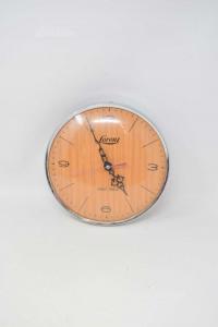 Orologio Da Parete Modello Vintage Lorenz Made In Italy Diametro 20 Cm