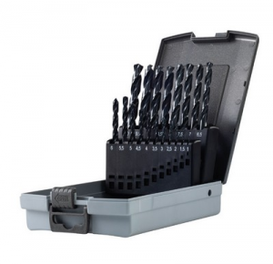 Serie punte per ferro professionali HSS-G mm 1-10 Krino 01068301