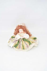 Bambola In Porcellana Di Capodimonte Made In Italy