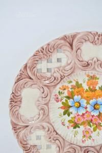 Piatto In Ceramica Bassano 28 Cm Di Diametro