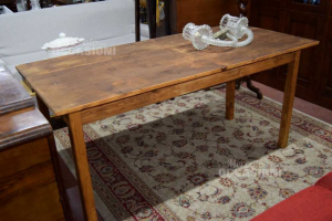 Wooden Table Long Handcrafted