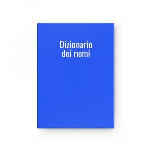 Dizionario dei nomi