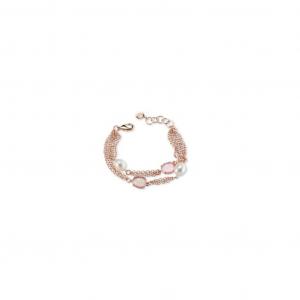 Sovrani bracciale donna in ottone con perle fiume J6430