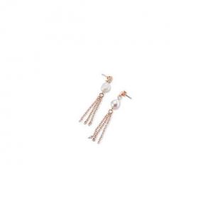 Sovrani orecchini donna in ottone con perle fiume J6431