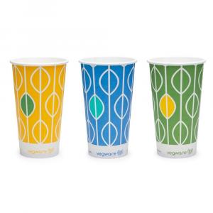Bicchieri in cartoncino per bevande fredde 360ml - Hula