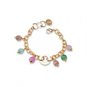 Sovrani bracciale donna Sauvanne con giada colorate J6150