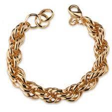 Sovrani Fashion mood bracciale in bronzo dorato J6302