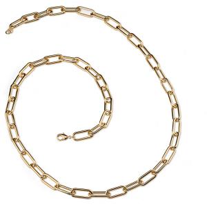 Sovrani collana donna lunga in bronzo con maglia chain J6050