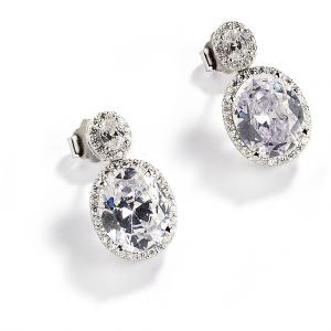 Sovrani Luce orecchini donna in argento con zirconi J5372