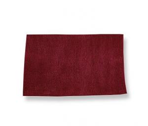 Tappeto antiscivolo Soffy rosso 55 x 110