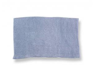 Tappeto antiscivolo Soffy azzurro 55 x 110